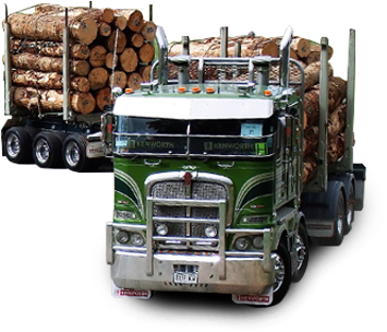 Log Transport Vehicles